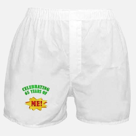 Funny Attitude 65th Birthday Boxer Shorts