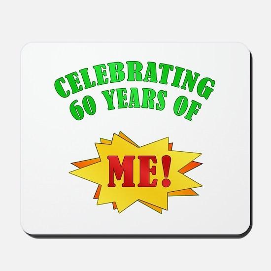 Funny Attitude 60th Birthday Mousepad