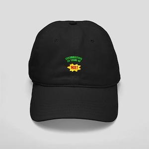Funny Attitude 50th Birthday Black Cap
