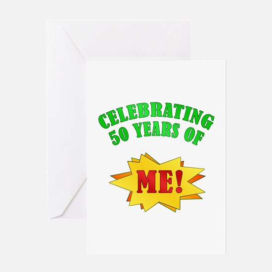 Funny Attitude 50th Birthday Greeting Card