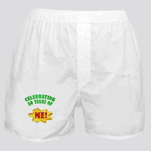 Funny Attitude 50th Birthday Boxer Shorts