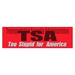 TSA (Bumper Sticker 10 pk)
