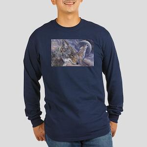 Coyote Long Sleeve Dark T-Shirt