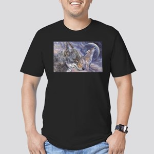 Coyote Men's Fitted T-Shirt (dark)
