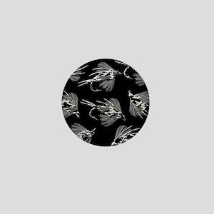 LOTSA BLACK CA,MO FLIES Mini Button