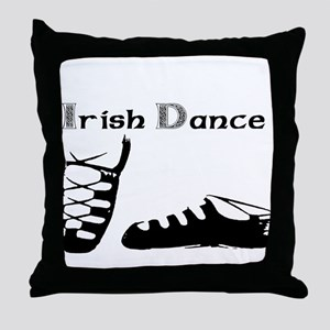 For the Irish Dancer Throw Pillow