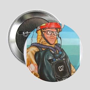 """Navy Firefighter 2.25"""" Button"""