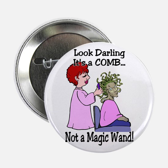 "Look Darling 2.25"" Button"