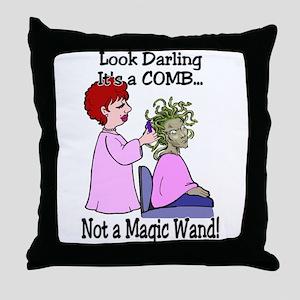 Look Darling Throw Pillow