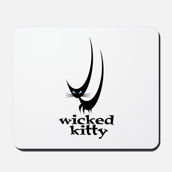 Wicked Kitty Mousepad
