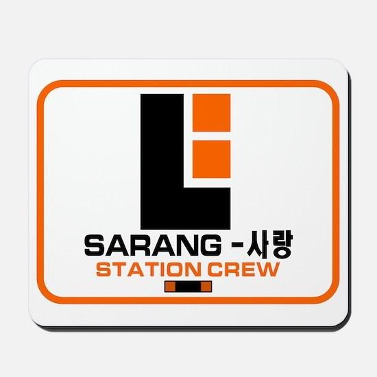 Sarang Station Crew Mousepad
