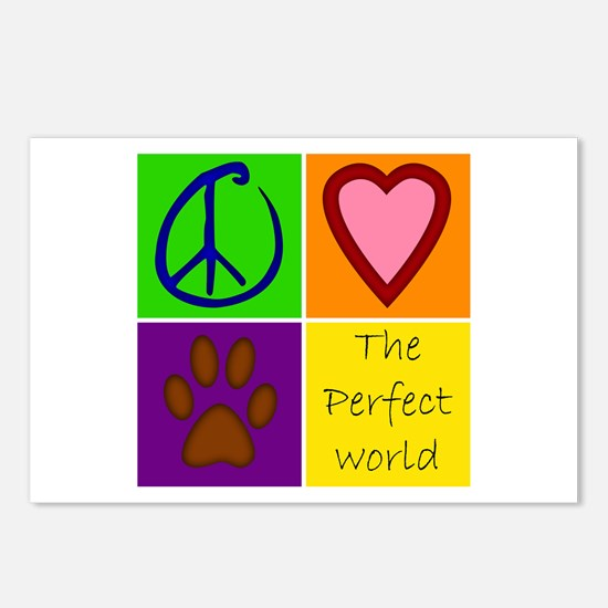 Perfect World: Dogs - Postcards (Package of 8)