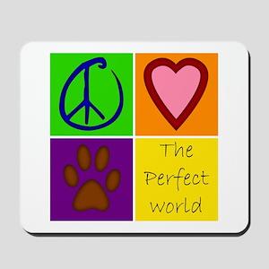 Perfect World: Dogs - Mousepad
