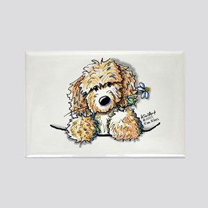 Bailey's Irish Crm Doodle Rectangle Magnet