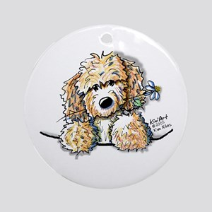 Bailey's Irish Crm Doodle Ornament (Round)