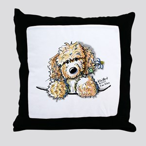 Bailey's Irish Crm Doodle Throw Pillow
