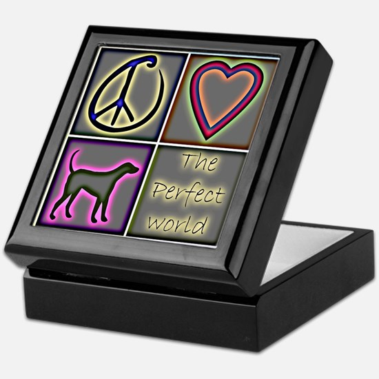 Perfect World: Labrador Retri Keepsake Box