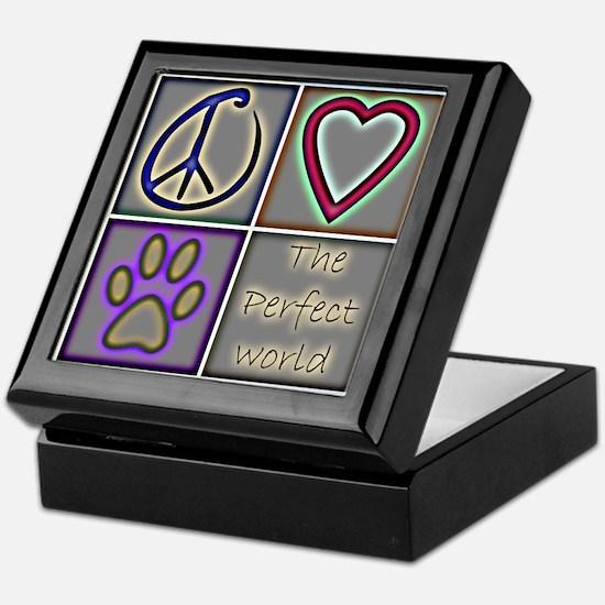 Perfect World: Dogs (ALT) - Keepsake Box