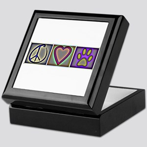 Peace Love Dogs (ALT) - Keepsake Box