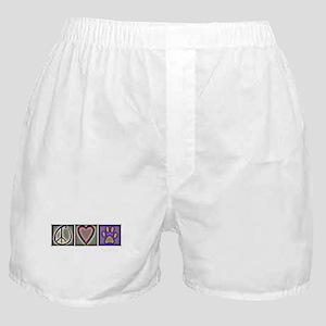 Peace Love Dogs (ALT) - Boxer Shorts