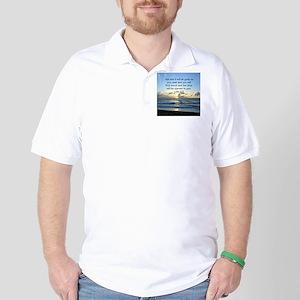 LUKE 11:9 Golf Shirt