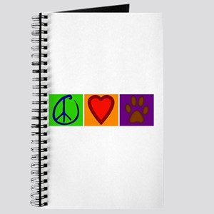 Peace Love Dogs - Journal