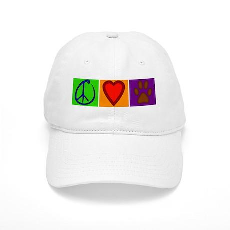 Peace Love Dogs - Cap
