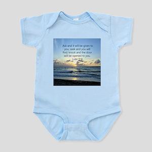 LUKE 11:9 Infant Bodysuit
