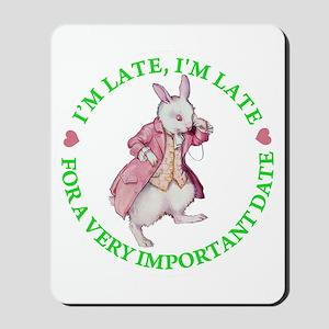 ALICE - FOLLOW ME Mousepad
