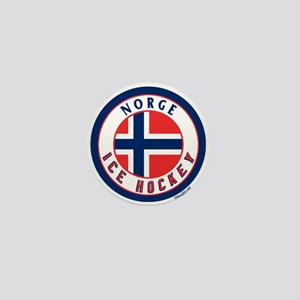 NO Norway/Norge Ice Hockey Mini Button