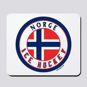 NO Norway/Norge Ice Hockey Mousepad