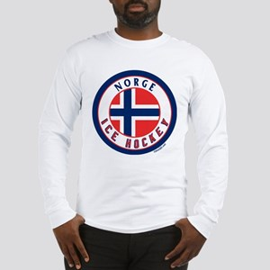NO Norway/Norge Ice Hockey Long Sleeve T-Shirt
