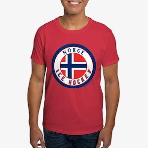 NO Norway/Norge Ice Hockey Dark T-Shirt