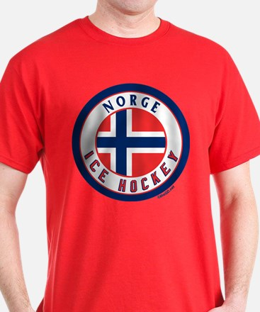 NO Norway/Norge Ice Hockey T-Shirt