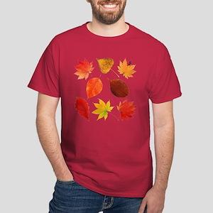 Autumn Leaves - Dark T-Shirt