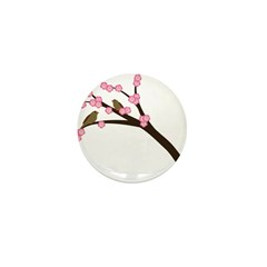 Cherry Blossoms Mini Button (100 pack)