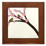 Cherry Blossoms Framed Tile