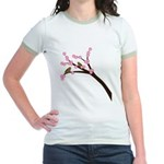 Cherry Blossoms Jr. Ringer T-Shirt