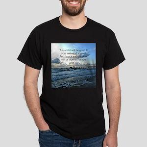 LUKE 11:9 Dark T-Shirt