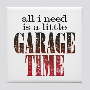 Garage Time Tile Coaster