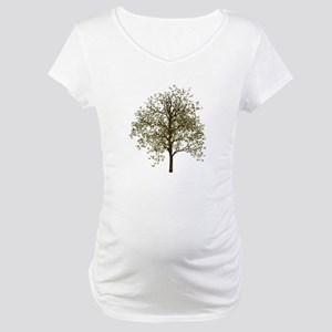 Simple Tree - Maternity T-Shirt
