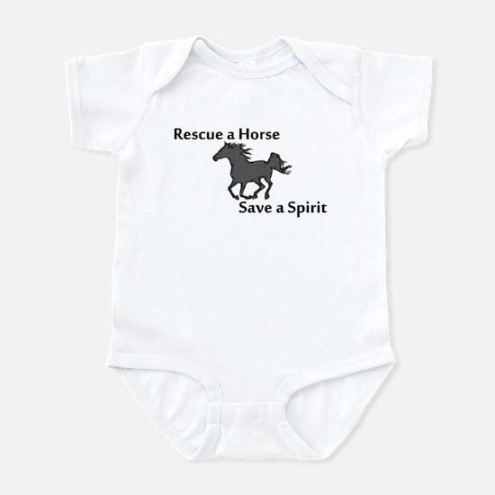 Rescue a Horse Infant Bodysuit