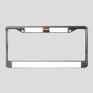 Gay Pride - License Plate Frame