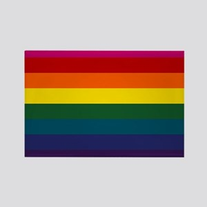 Gay Pride & Unity Rectangle Magnet