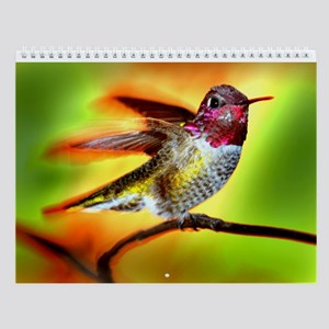 2010 Hummingbird Wall Calendar