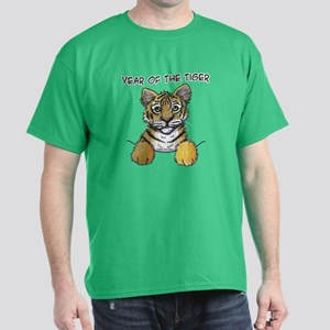 YEAR OF THE TIGER Dark T-Shirt