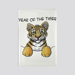 YEAR OF THE TIGER Rectangle Magnet