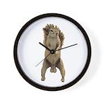 Nutsac Dance Squirrel Wall Clock