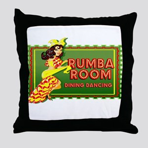 Rumba Room Throw Pillow