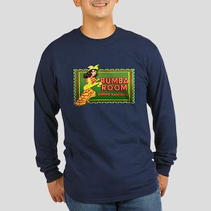 Rumba Room Long Sleeve Dark T-Shirt